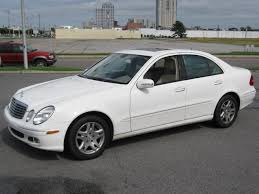 2003 mercedes benz e class trims and specs
