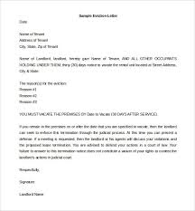 Eviction Letters Templates Cool Eviction Notice Format Zerogravityinflatablesus