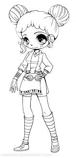 Small Picture Princess Emeraude Chibi by YamPuff on deviantART coloring pages