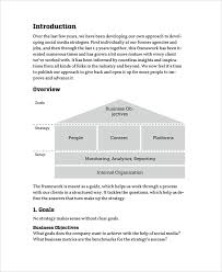 Sample Business Plans Templates Sample Business Strategy 7 Documents In Pdf