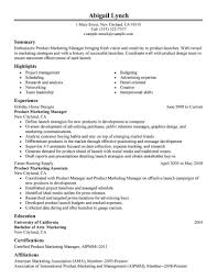 How Far Back Should My Resume Go Best Product Marketer Resume Example LiveCareer 22