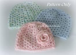 Crochet Baby Hat Pattern 3 6 Months