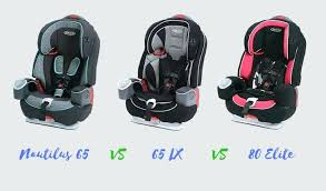 graco nautilus 65 lx 3 in 1 harness booster vs elite car seats instructions