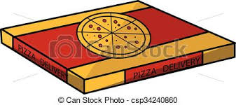 pizza box clipart. Delighful Box Pizza Box  Csp34240860 Intended Box Clipart P