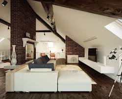 Featured Image of Attic Living Room With Sloped Ceiling