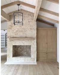 Austin Stone Fireplace Living Room Contemporary With Chalet High Austin Stone Fireplace