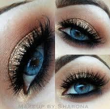 gladiator blue eye makeup