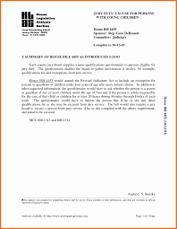 9 Example Of Jury Duty Excuse Letter Penn Working Papers