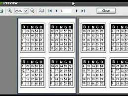 Excel Bingo Template Print Bingo Cards With Loteria Workshop Youtube