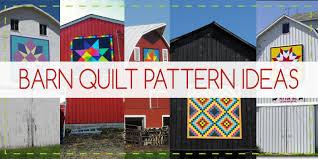Barn Quilt Patterns, Designs, Ideas & More! & Barn Quilt Pattern Ideas Adamdwight.com
