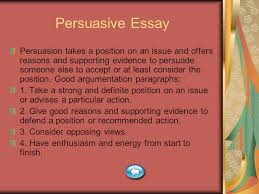 paragraph essay types index expository description narration  14 persuasive essay persuasion