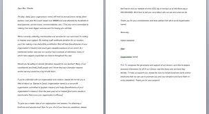Solicitation Letter Solicitation Letter Smart Letters