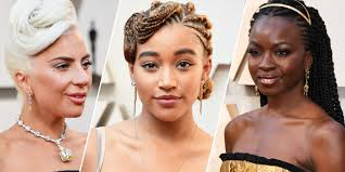 oscars 2019 best hairstyleakeup academy awards red carpet allure