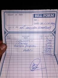 Written Invoice Awesome Bill Invoice Never Seenreceived Such Thing Even From A Roadside