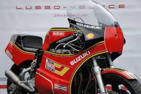 suzuki xr 69 trident replica race bike