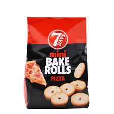 7days Bake Rolls Pizza παξιμαδάκια μίνι Pizza 160g