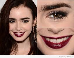 red lips makeup ideas for brown eyes
