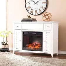 southern enterprises electric fireplaces 3 in 1 infrared media fireplace console in white a southern enterprises