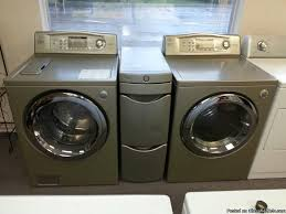 colored washer and dryer sets. Simple Dryer CHAMPAGNE COLOR LG TROMM FRONT LOAD WASHERDRYER SET  599 NRH  Inside Colored Washer And Dryer Sets T