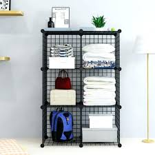 cube storage organizer 6 cube wire grid storage bookcase storage organizer closetmaid 1110 decorative storage 9