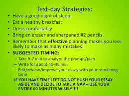 writing review essay dos and don ts pines middle school ppt  2 test day