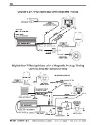 msd ignition wiring diagrams installation instructions part 2 · msd digital 6 plus and digital 7 plus magnetic pickup