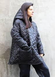 Quilted Jacket/Warm Waterproof Fashion Jacket/Asymmetrical Jacket ... & Quilted Jacket/Warm Waterproof Fashion Jacket/Asymmetrical Jacket/Plus Size  Jacket/Oversize Adamdwight.com