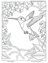 In The Trees Book One Coloring Pages Bird Coloring Pages