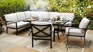 Torquay 23m Aluminium Outdoor Table With 8 Windsor Stackable Aluminium Outdoor Furniture