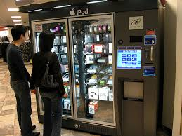 Ipod Vending Machine Locations Simple IPod Vending Machine In Macy's At A Mall Where There Is Also An