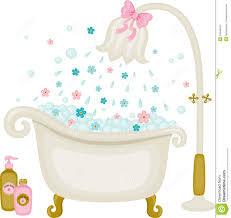 vintage bath ilration stock shower clipart bubble clip library