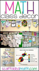Classroom Decoration Charts For High School Scaffolded Math And Science Math Classroom Decoration Ideas