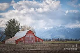 Red Barn Photograph by Wendy Elliott