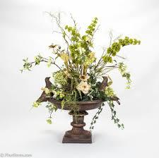 Silk Arrangements For Home Decor Home Decoration Decorative Fake Floral Arrangements For Hallway