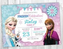 Frozen Invitations Ideas Magdalene Project Org