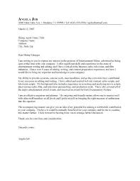 Successful Cover Letters Samples All Cover Letter Samples For