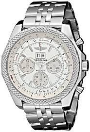17 best ideas about bentley watch price men s breitling men s bta4436412 g679ss bentley analog display swiss automatic silver watch