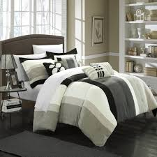 grey trim all white comforter set full black bedspread zebra comforter set bedroom comforters off white duvet solid black comforter white