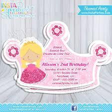 B Day Invitation Cards Princess Aurora Party Invitations Princesses Sleeping