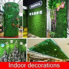 artificial fake green plants grass
