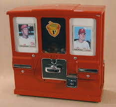 Baseball Card Vending Machine For Sale Amazing Home Page