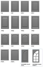 cabinet door profiles ddfaadb lower door style same as upper