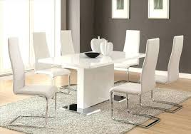 dot room contemporary tufted white leather dining chairs off all modern chair brown and sofa leatherette dining chairs all modern