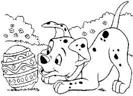 Small Picture Coloring Pages Animals Dalmation Puppies Coloring Page With 7b6