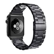 hossen for iwatch apple watch series 4 40mm 44mm stainless steel band strap replacement watch