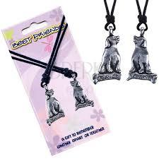 necklaces best friends pendants dogs text friends forever
