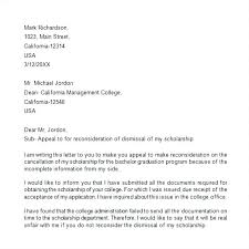 Summary Dismissal Appeal Letter Template Gross Misconduct