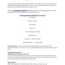 Sample Resume For Hrm Undergraduate Archives Circlewriter Com