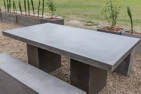 beautiful handcrafted outdoor dining table lightweight and durable concrete table t88