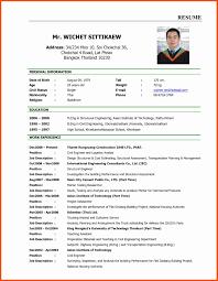 Resume Freeple Of Resume For Job Application Fresh